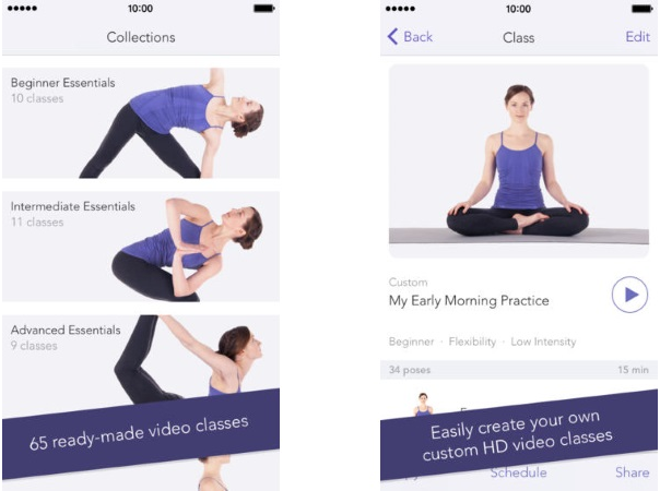top best yoga mobile apps citrusbits. Black Bedroom Furniture Sets. Home Design Ideas