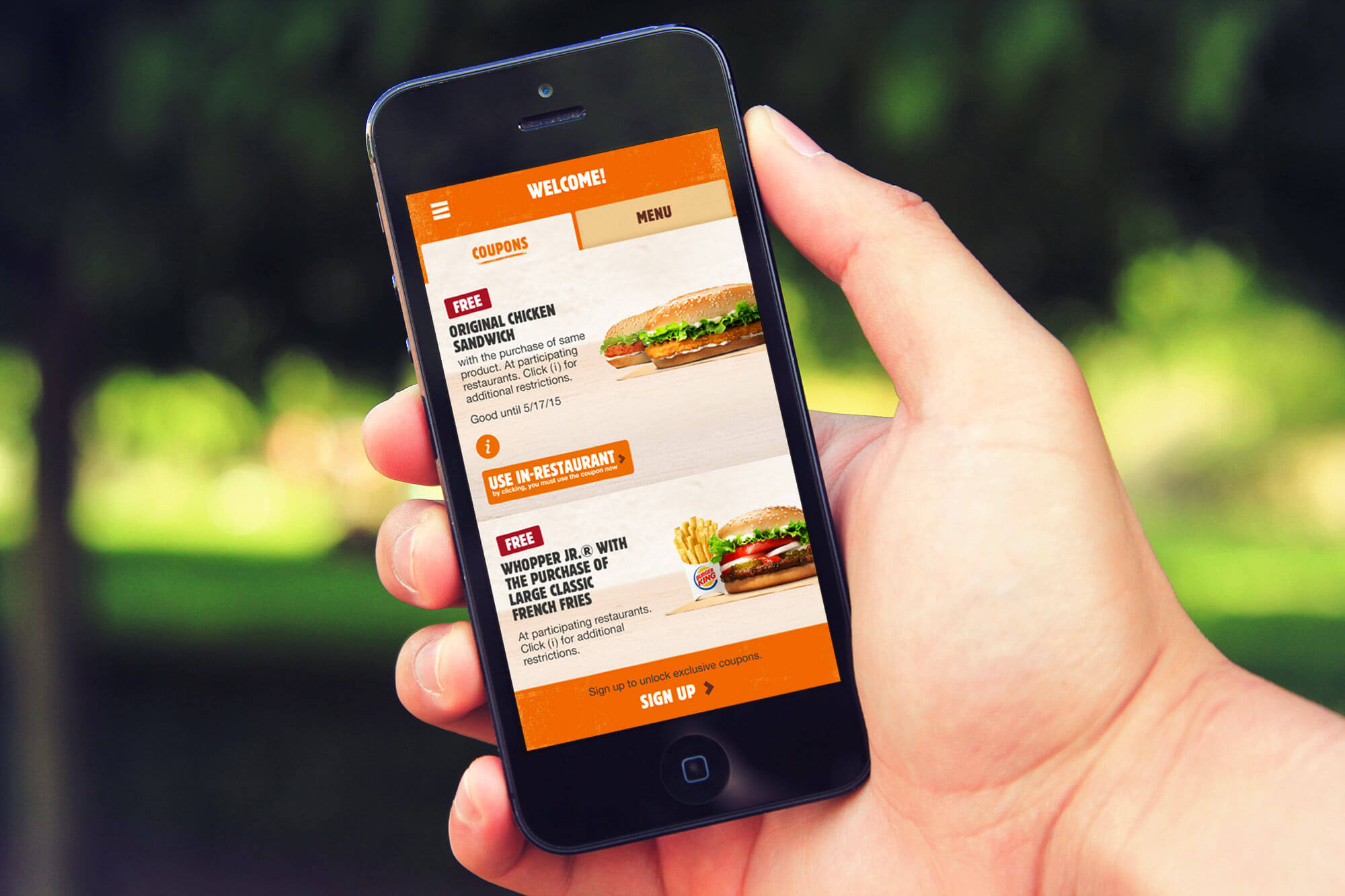 food delivery mobile apps