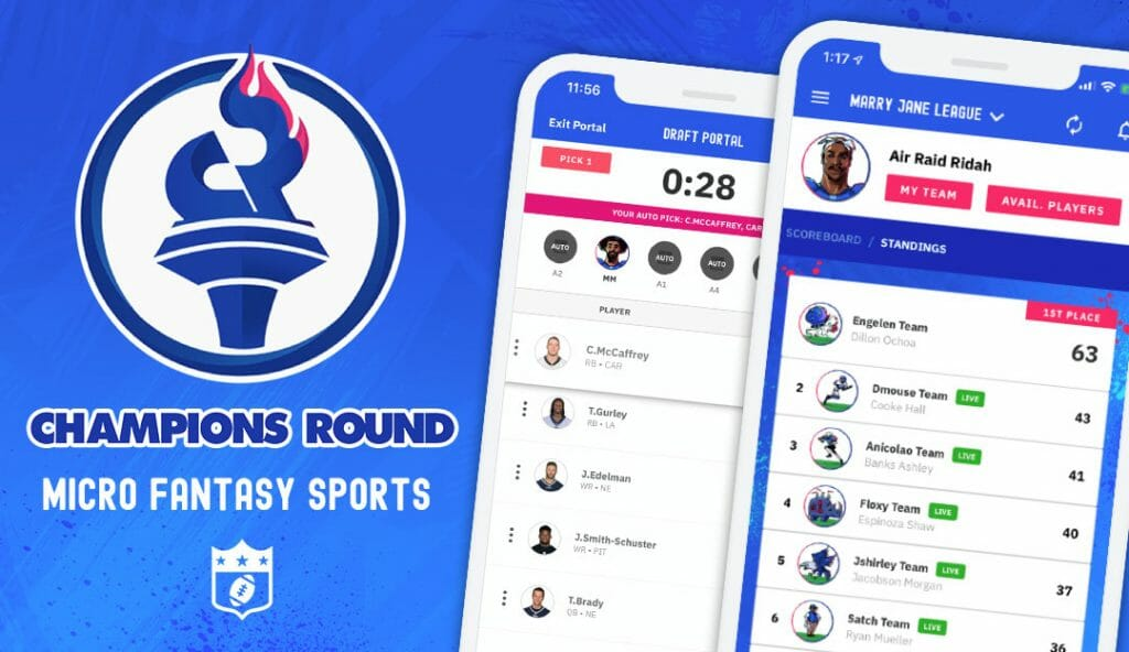 Champions Round App by CitrusBits