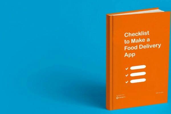 Checklist to Make a Food Delivery App