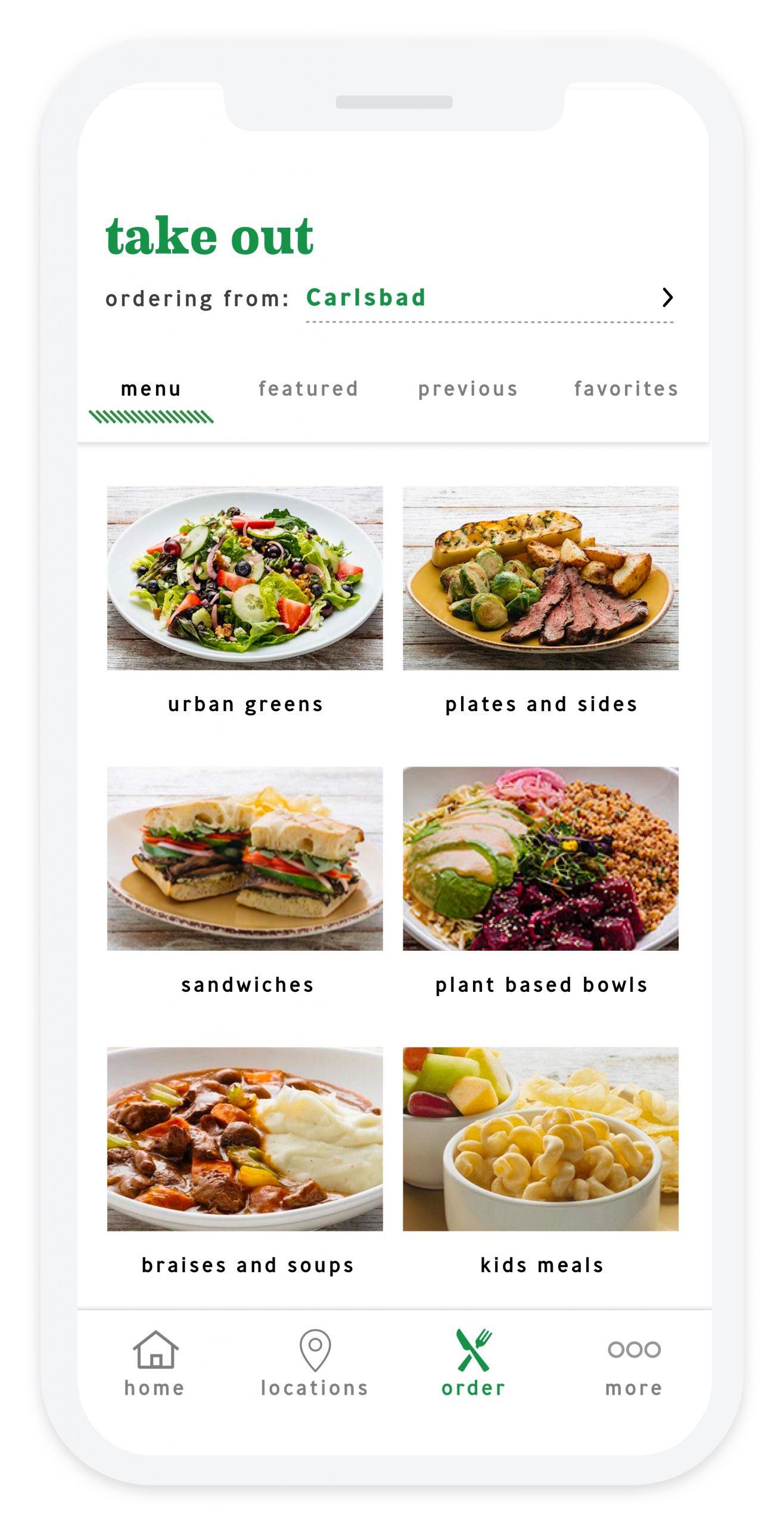 Urban Plates - Screenshot - Categories