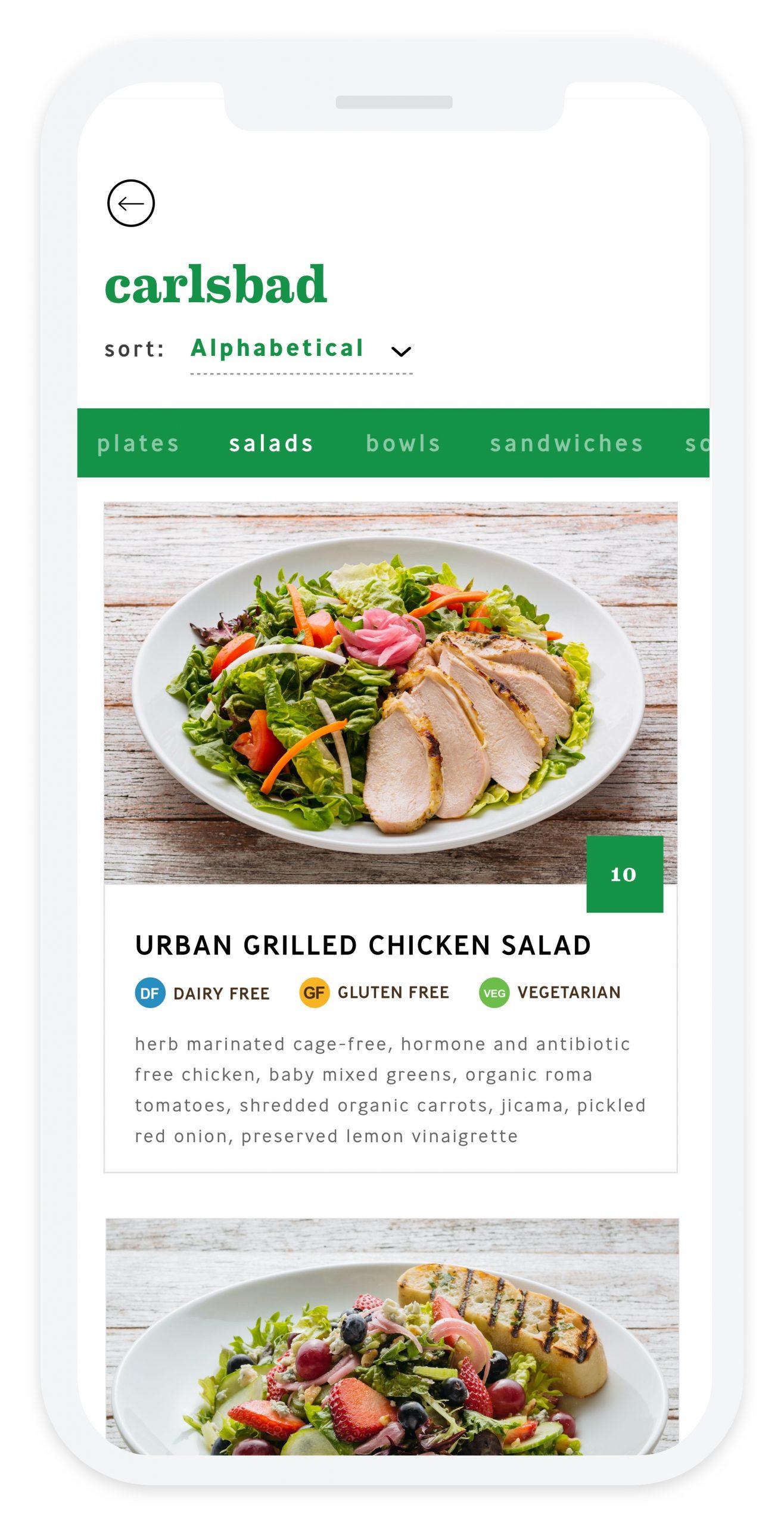 Urban Plates - Screenshot - Menu
